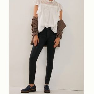 PAIGE Hoxton High-Rise Coated Skinny Jeans, BNWT!